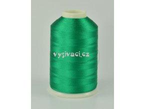 vyšívací nitě zelená ROYAL C154 návin 5000m viskóza