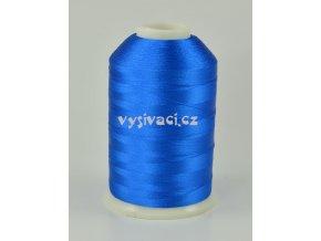 vyšívací nitě modrá ROYAL C113 návin 5000 metrů viskóza