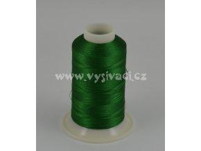 vyšívací nit zelená ROYAL C751 návin 1000m viskóza  dočasně nahrazena nití Sulky 1051