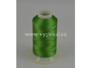 vyšívací nit zelená ROYAL C749 návin 1000m viskóza