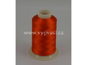 vyšívací nit oranžová ROYAL C359 návin 1000m viskóza