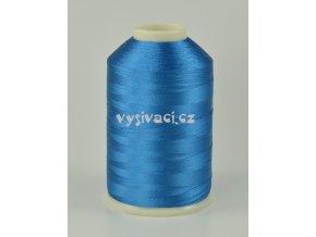 vyšívací nitě modrá ROYAL C114 návin 5000 metrů viskóza