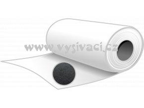 RANDOM R45č - podkladový trhací materiál pro vyšívání, gramáž 45g/m2, šíře 90cm, barva černá, návin 10m