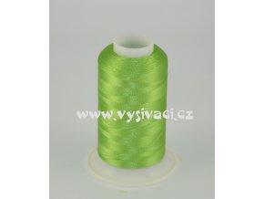 vyšívací nit zelená ROYAL C374 návin 1000m viskóza