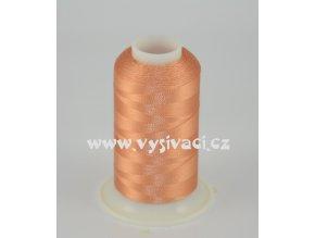 vyšívací nit hnědá ROYAL C401 návin 1000m viskóza