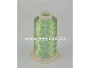 vyšívací nit zelená ROYAL C424 návin 1000m viskóza