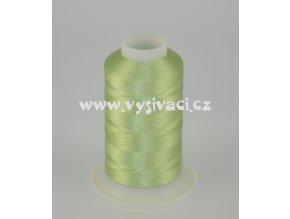 vyšívací nit zelená ROYAL C161 návin 1000m viskóza