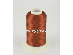 vyšívací nit hnědá ROYAL C729 návin 1000m viskóza