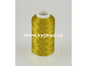 vyšívací nit hnědá ROYAL C736 návin 1000m viskóza