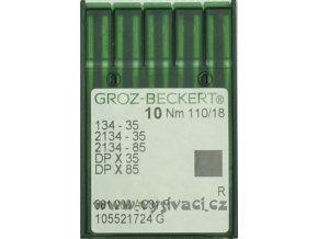 jehla 134-35 110 R Groz-Beckert, balení 10ks