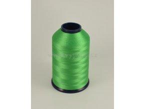 vyšívací nit zelená ROYAL P124 5000m polyester