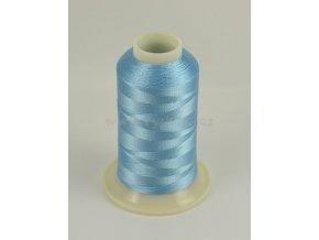 vyšívací nit modrá ROYAL C109 návin 1000m viskóza