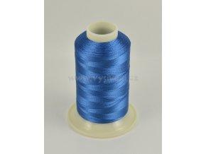 vyšívací nit modrá ROYAL C130 návin 1000m viskóza