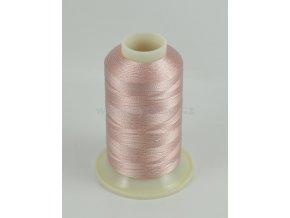 vyšívací nit růžová ROYAL C508 návin 1000m viskóza