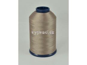 vyšívací nit hnědá ROYAL P135 5000m polyester