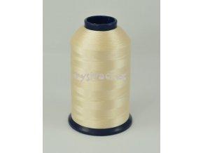 vyšívací nit žlutá ROYAL P182 5000m polyester