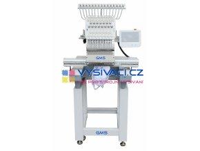 vyšívací stroj GMS-FT1501XL průmyslový jednohlavový 15-ti jehlový se zvětšenou pracovní plochou  + ZDARMA: balíček spotřebních materiálů a nití!