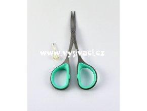 nůžky vyšívací malé se zahnutou ostrou špičkou, délka 10cm