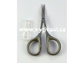 nůžky vyšívací mini s rovnou ostrou špičkou, délka 9cm