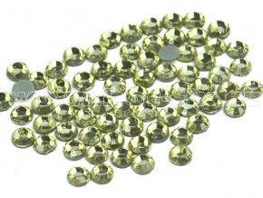 hot-fix skleněné nažehlovací kameny na textil barva 111 Jonquil, velikost SS6 až SS20