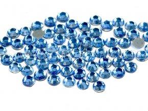hot-fix skleněné nažehlovací kameny na textil barva 118 Sapphire světlý, velikos SS6 až SS16