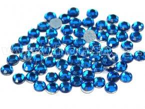 hot-fix skleněné nažehlovací kameny na textil barva 119 Capri blue, velikost SS6 až SS16