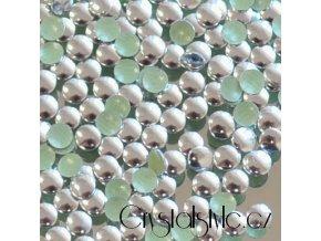 hot-fix kovové kameny na textil nažehlovací barva 03 stříbrná lesk, velikost 2, 3, 4, 5, 7, 10, 13, 15mm, balení 100ks a sada 4x100ks
