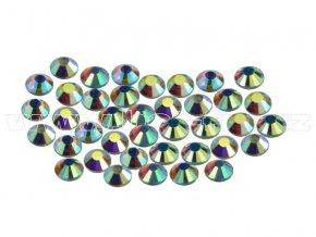 CBP 201 AB Crystal velikost SS6 hot fix kameny na textil celobroušené Premium 2