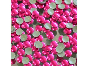 hot-fix kovové kameny na textil nažehlovací barva 11 fuchsia, vel. 2, 3, 4, 5mm, balení 100ks, 500ks a sada 4x100ks