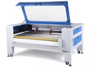 GBOS GH 1610T AT - výkonný řezací a gravírovací laser s automatickým podáváním řezaného materiálu