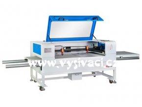 GBOS GHM 1260 - CO2 řezací laserový plotr s dvojitou pracovní plochou