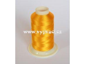 vyšívací nit žlutá ROYAL C012 návin 1000m viskóza
