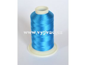 vyšívací nit modrá ROYAL C112 návin 1000m viskóza