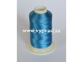 vyšívací nit modrá ROYAL C114 návin 1000m viskóza