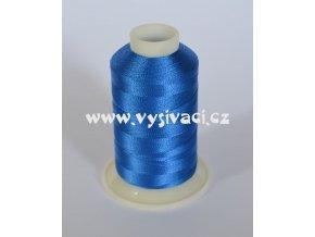 vyšívací nit modrá ROYAL C131 návin 1000m viskóza
