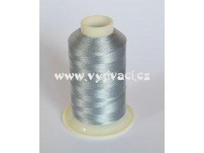vyšívací nit šedá ROYAL C327 návin 1000m viskóza