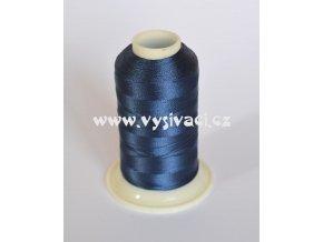 vyšívací nit modrá ROYAL C334 návin 1000m viskóza