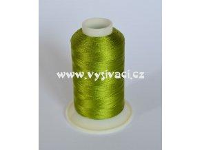 vyšívací nit zelená ROYAL C425 návin 1000m viskóza