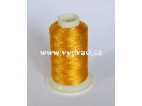 vyšívací nit žlutá ROYAL C741 návin 1000m viskóza