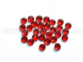 celobroušené hot-fix kameny Premium barva CBP 102 Siam tmavý, velikost SS6 až SS30, balení 144ks