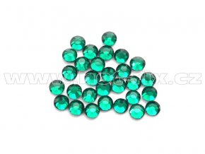 celobroušené hot-fix kameny Premium barva CBP 115 Emerald, velikost SS6 až SS30, balení 144ks