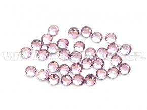 celobroušené hot-fix kameny Premium barva CBP 121 Amethyst světlý, velikost SS6 až SS30, balení 144ks
