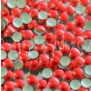 hot-fix kovové kameny na textil nažehlovací barva 32 červená, vel. 2, 3, 4, 5mm, balení 100ks a sada 4x100ks
