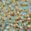 hot-fix kovové kameny na textil nažehlovací barva 35 hnědá, vel. 2, 3, 4, 5mm, balení 100ks a sada 4x100ks