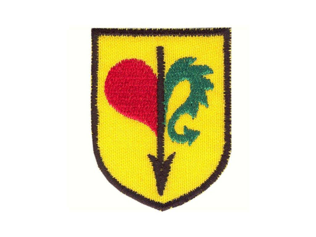 Nášivka - Rytiersky erb