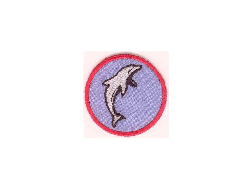 Družinová nášivka - Delfín 2