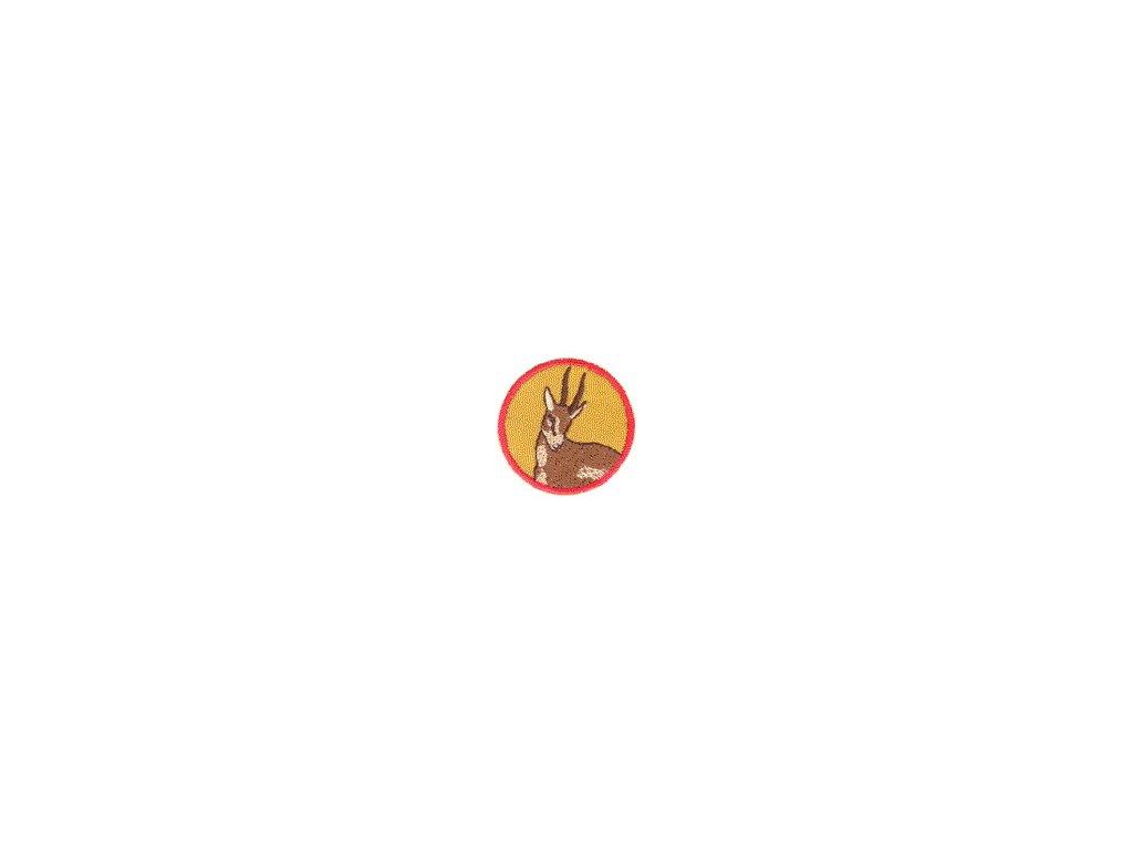 Družinová nášivka - Gazela