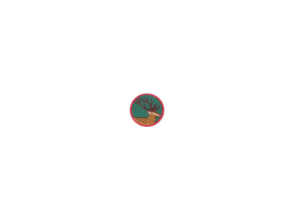 Družinová nášivka - Jeleň