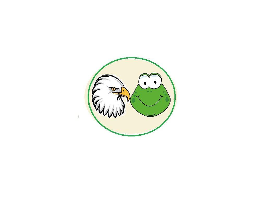 Družinová nášivka - Orly a žabky