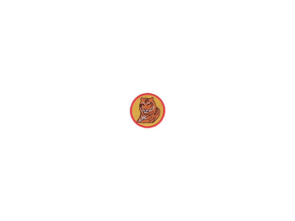 Družinová nášivka - Tiger